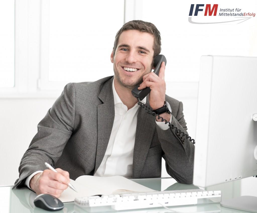 Mit IFM habe ich mehr Erfolg bei der Neukundenakquise am Telefon