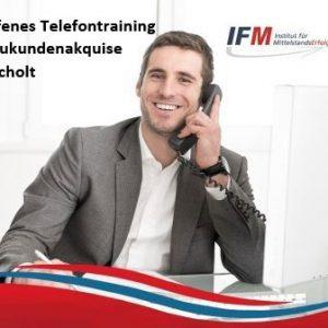 Telefontraining Bocholt Neukundenakquise