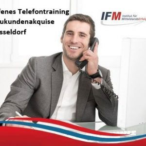 Telefontraining Düsseldorf Neukundenakquise