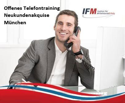 Telefontraining München Neukundenakquise